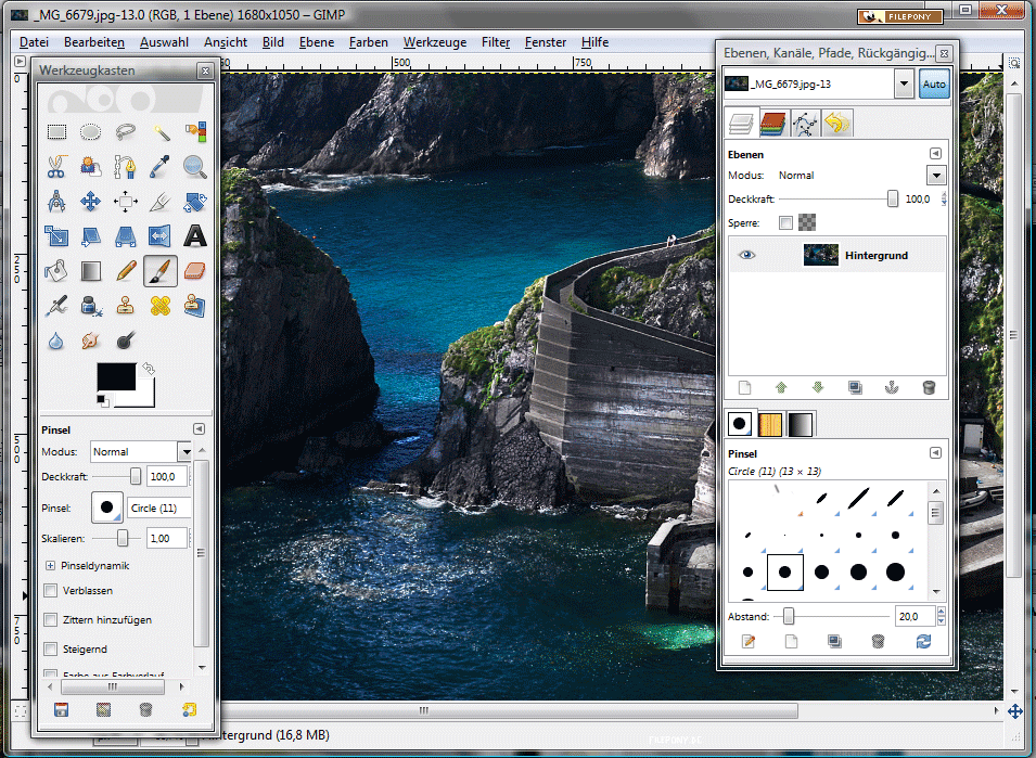 GIMP Free and Open Source Designing Tool